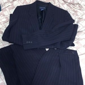 Woman blazer and pant suit